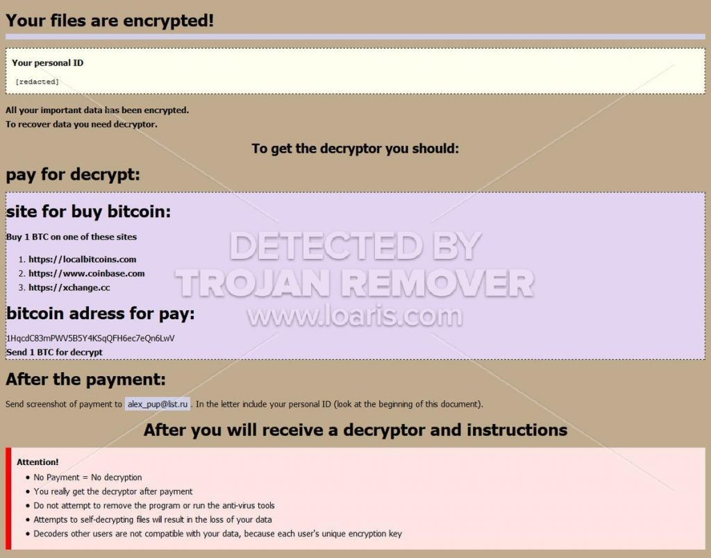 Beware of fake ransomware decryption tools