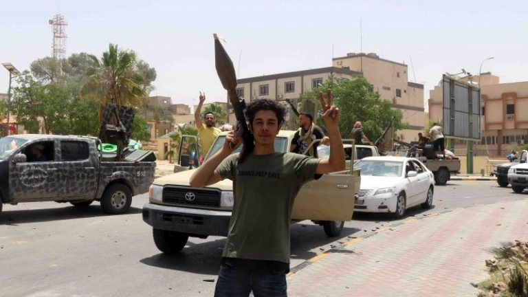 France, Germany and Italy are calling for the end of foreign interference in Libya