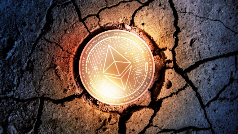 Grayscale ether trust stocks drop 50%