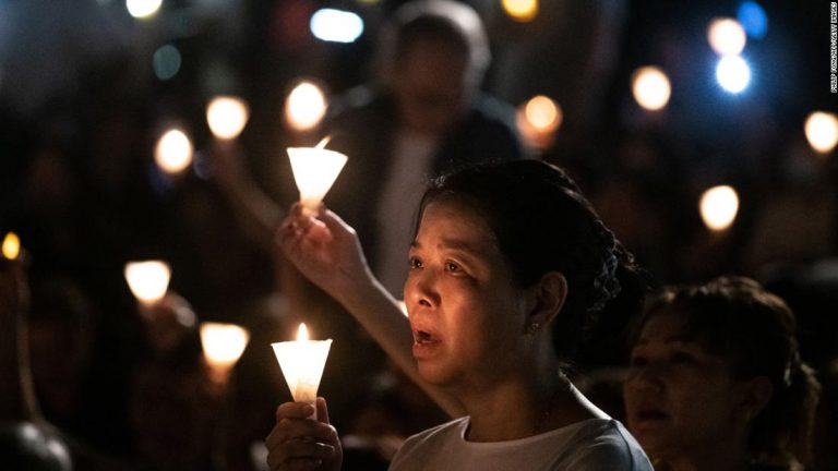 Hong Kong police ban the vigil for the first time in 30 years to commemorate the Tiananmen massacre