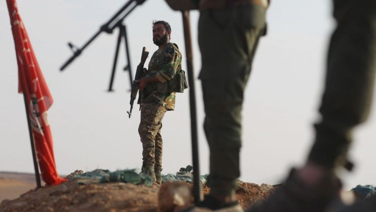 Six soldiers killed in new Islamic state attack in central Syria