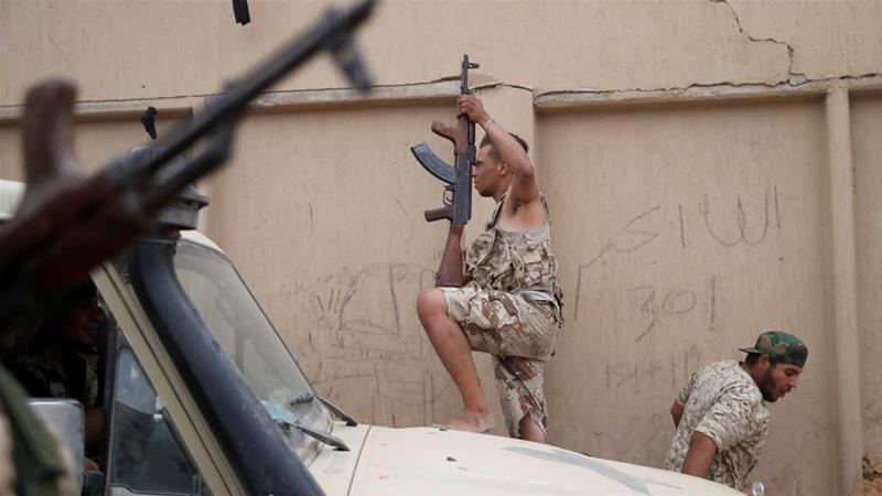 """The Libyan government has said it will continue to """"clear the country of Russian and Sudanese mercenaries."""""""
