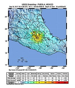 The number of deaths in the earthquake on Tuesday in southern Mexico increases to 10