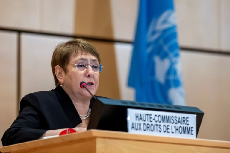 "The UN human rights chief criticizes Israel's plans in the West Bank: ""Annexation is illegal. Period"""