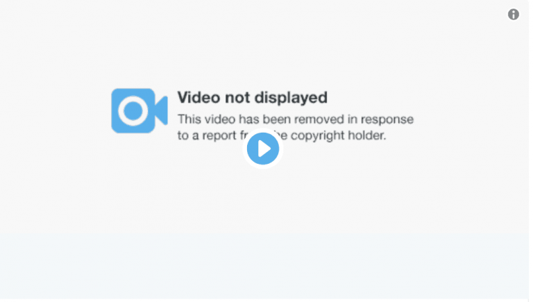 Twitter deletes the Trump campaign video due to copyright issues