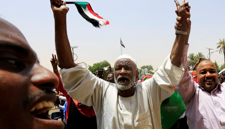 Agreement in Sudan on the representation of rebel groups in the country's parliament