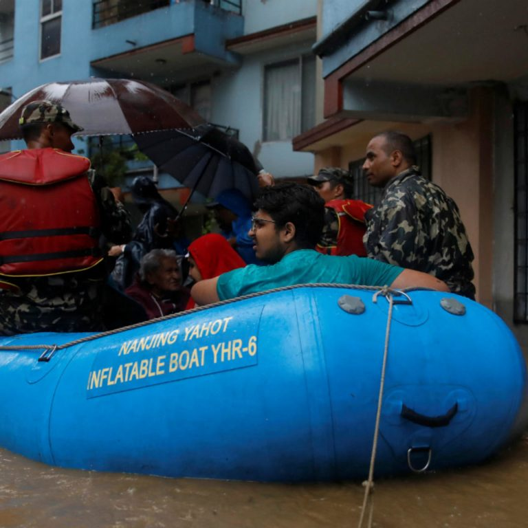 At least two dead and 18 missing due to severe flooding in northeastern Nepal