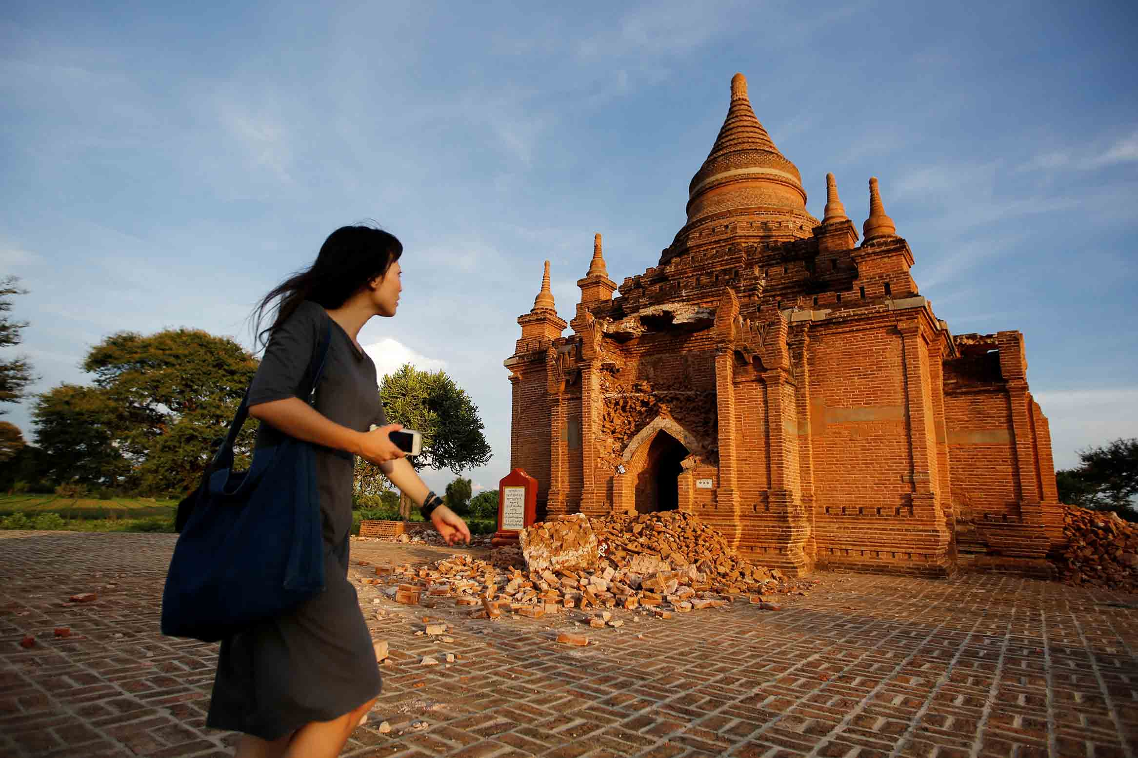 Burma is completing the repair of hundreds of pagodas that were damaged by the Bagan earthquake in 2016