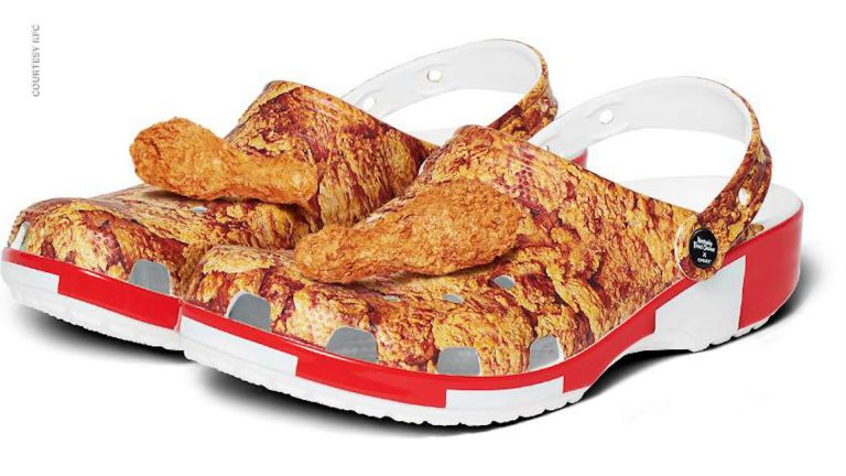 Crocs launches KFC sandals and they are completed on the first day of sale