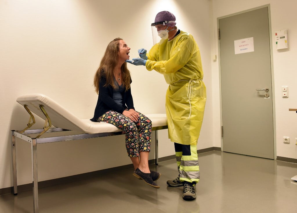 Germany says that travelers returning from high-risk areas must be tested for coronavirus