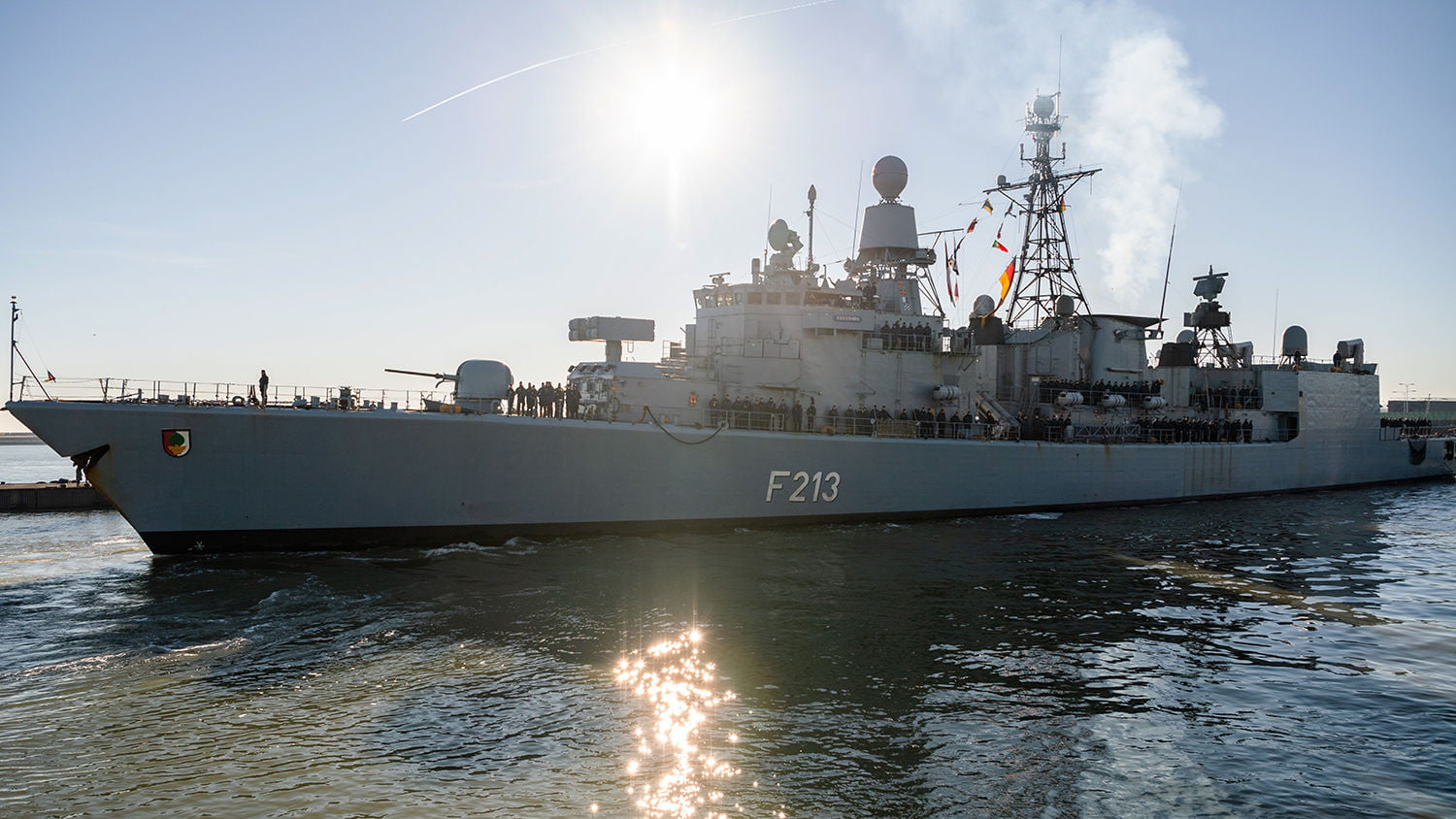 Germany will send a frigate with 250 soldiers as part of the Irini mission in the Mediterranean