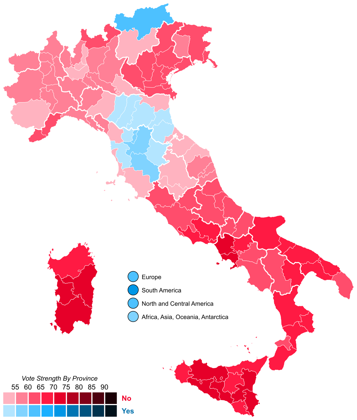 Italy will hold the constitutional referendum on the same day as the regional ones on September 20 and 21