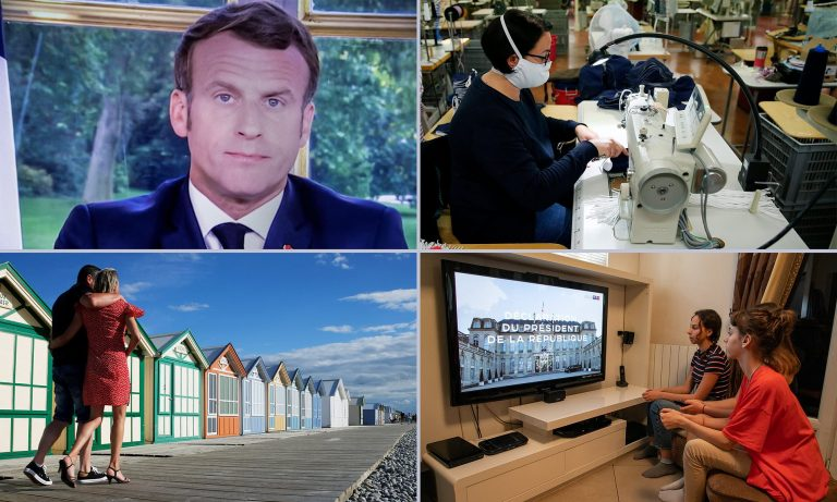 Macron announces that the mask will be mandatory in closed public places from August 1st