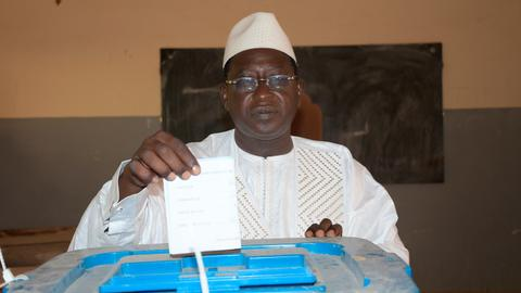 Mali's president disbanded the constitutional court after the recent protests