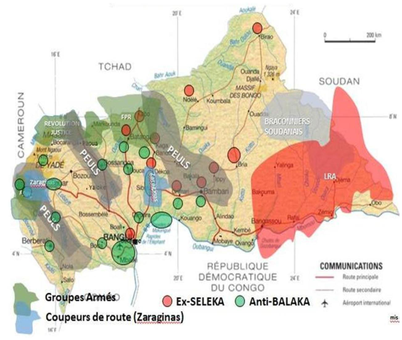 MINUSCA announces progress in offensive against the 3R armed group in northwestern RCA