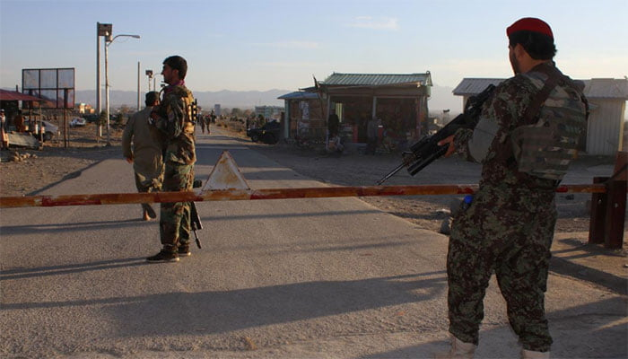 Police officer killed in suicide bombing in eastern Afghanistan