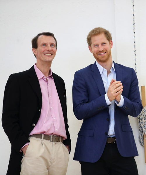 Prince Joachim of Denmark stable after surgery for a brain clot