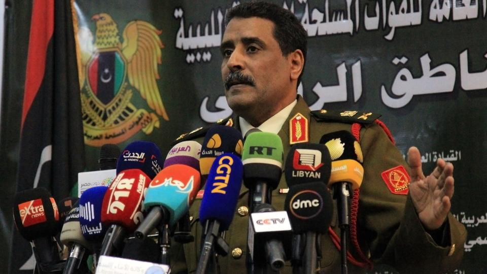 """Russia says Haftar is ready to sign an """"immediate"""" ceasefire in Libya"""