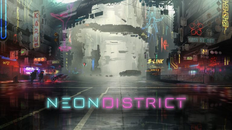 """The blockchain role-playing game """"Neon District"""" is published in the Matic network"""