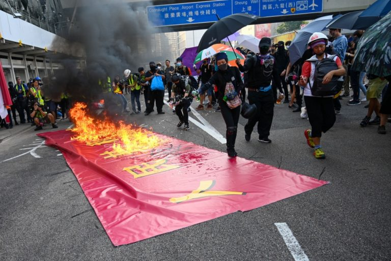 The Hong Kong leader says the National Security Committee should operate in secret