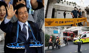 The Mayor of Seoul was found dead after he was missing
