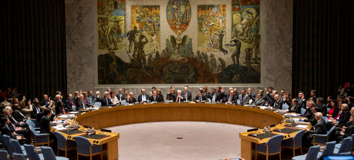 The UN Security Council approved the provision of humanitarian aid in Syria