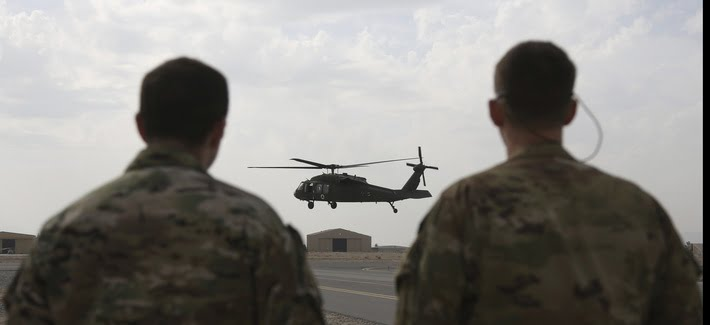 The United States confirm the withdrawal of its troops from five military bases in Afghanistan