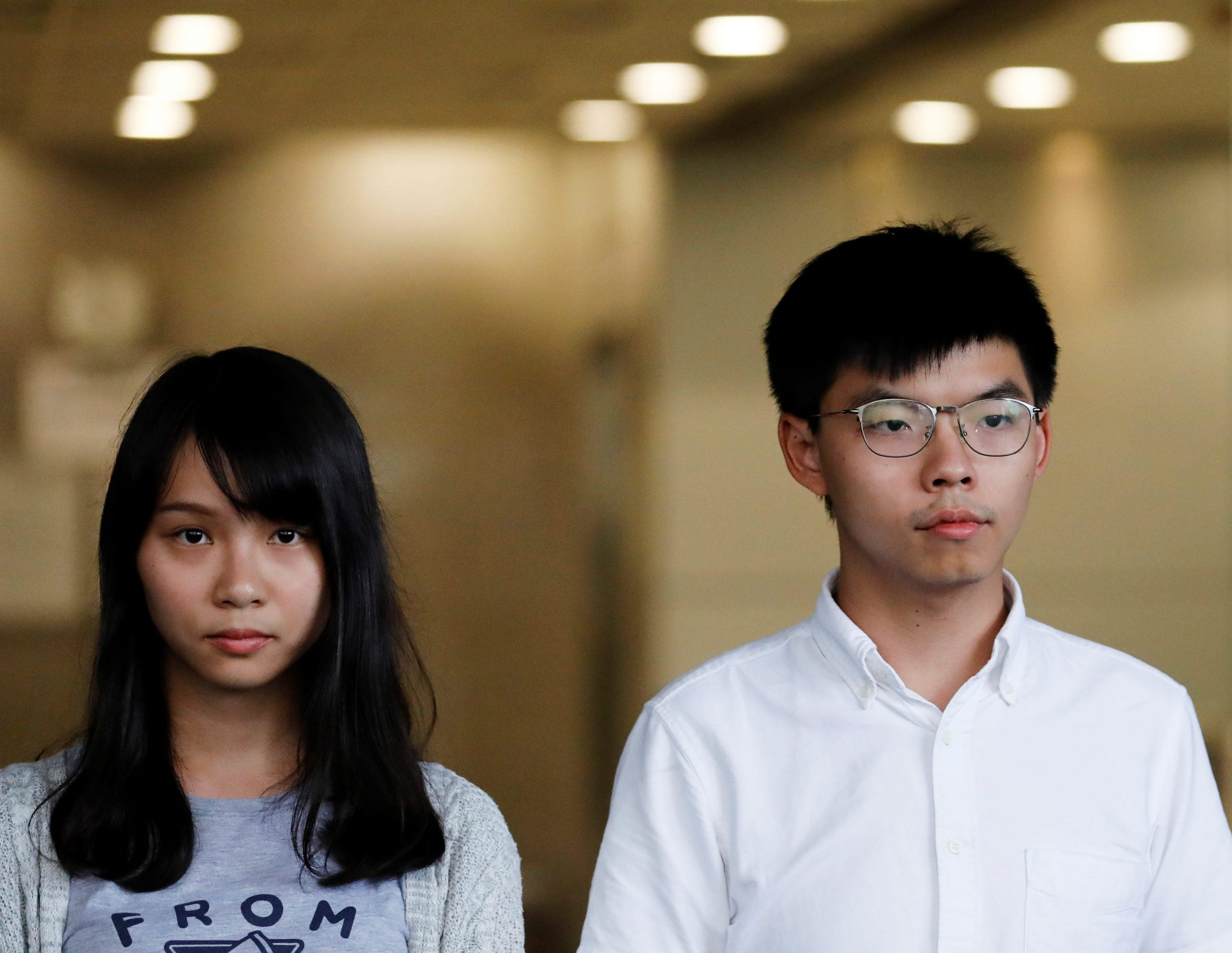 Three influential pro-democracy activists released on bail in Hong Kong