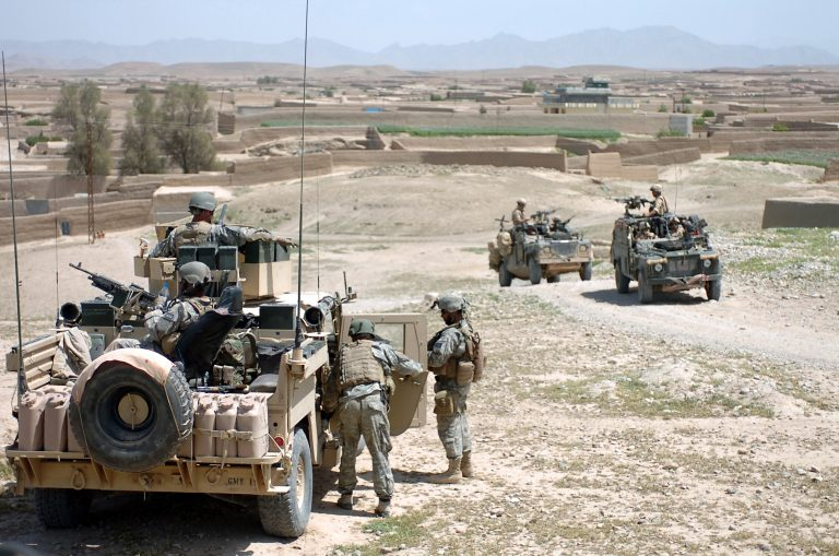 Three soldiers die and eight are injured in a patrol attack in western Pakistan