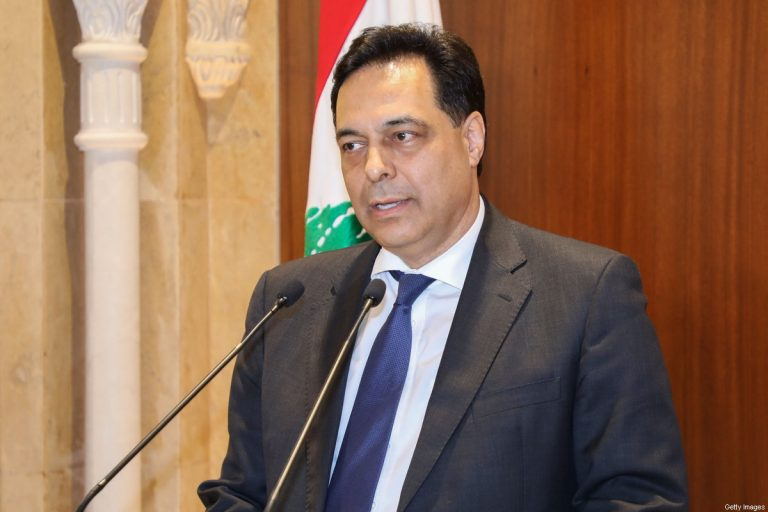 A Lebanese minister expects Diab to announce the government's resignation on Monday