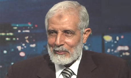 """A Muslim Brotherhood leader convicted """"in absentia"""" of terrorism in Egypt"""