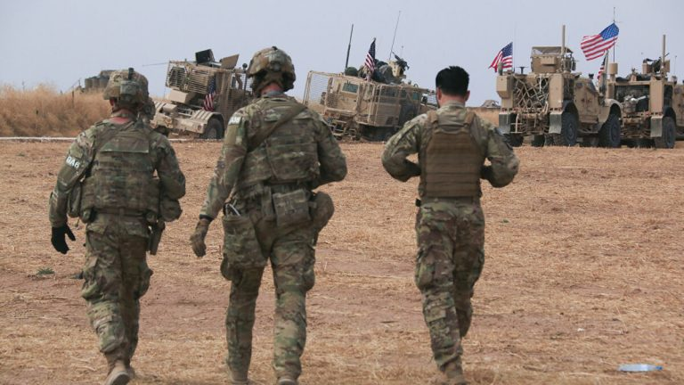 At least four US soldiers were injured in an accident involving Russian troops in northeast Syria
