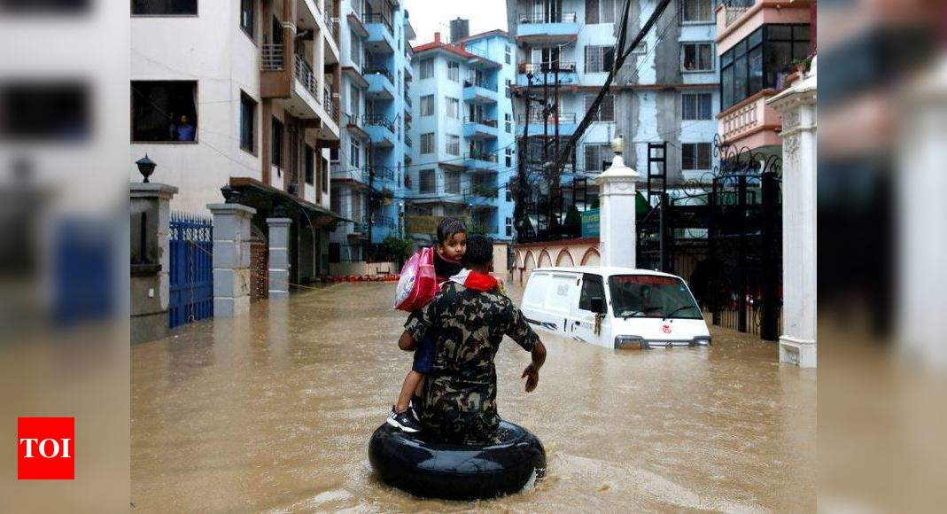 At least nine dead and more than 30 missing in landslides in Nepal