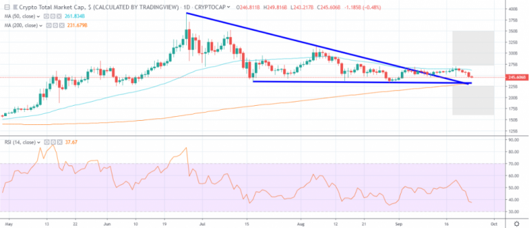 Bitcoin price continues to rise and the positive sentiment has disappeared from the charts