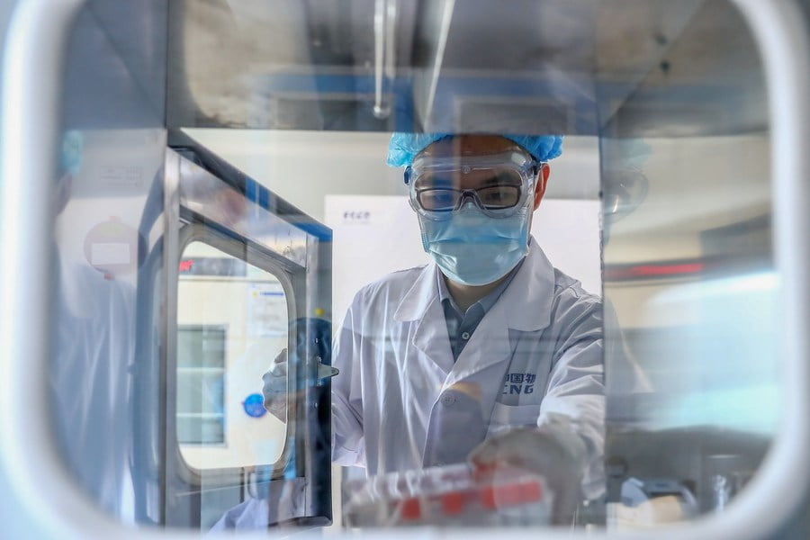 China approves first patent for COVID-19 vaccine