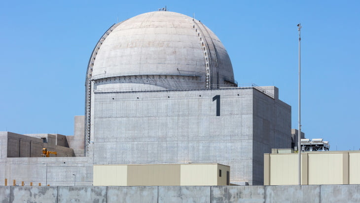 Emirates announces the commissioning of the Barakah nuclear power plant, the first in the Arab world