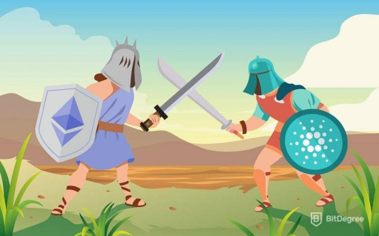 Ethereum 2.0 and EOS meet swords to improve scalability