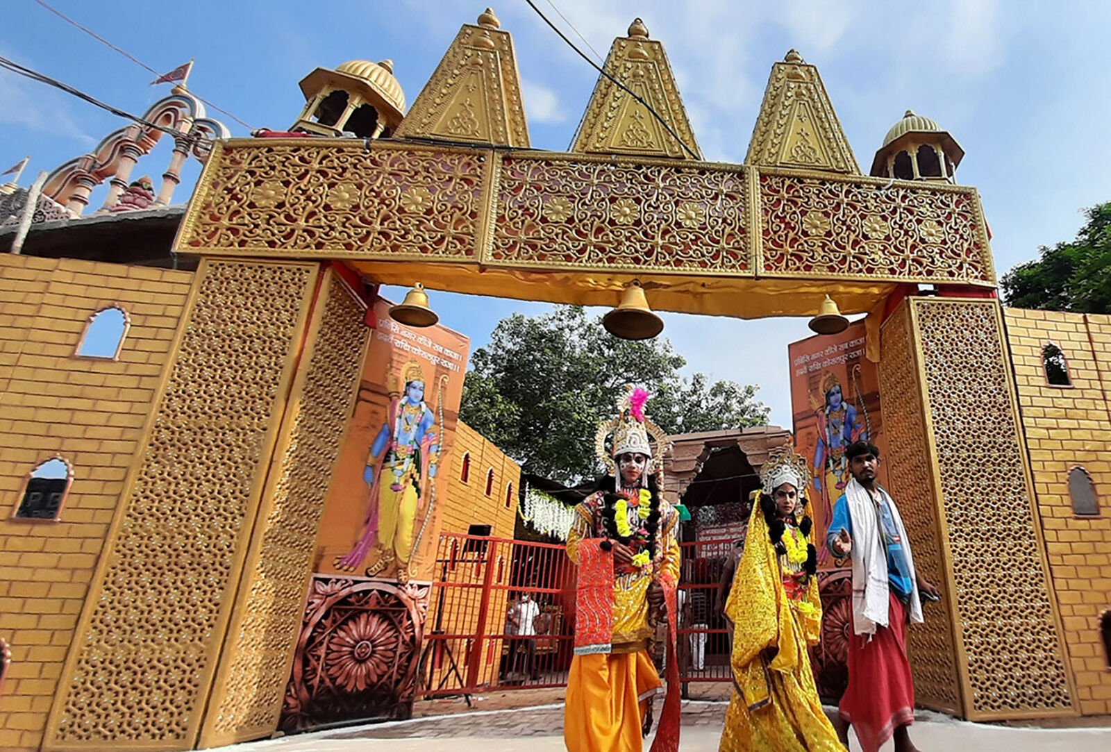 India begins building the Hindu temple in Ayodhya after centuries of controversy
