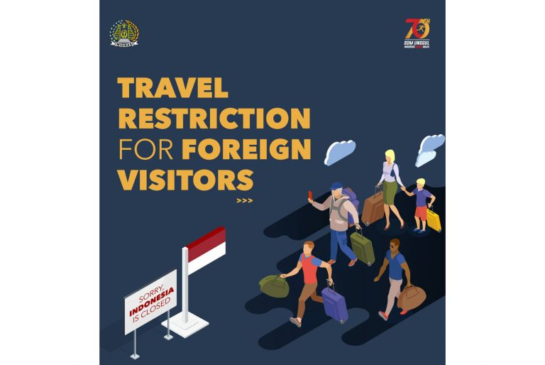Indonesia extends the ban on foreign tourists until the end of the year