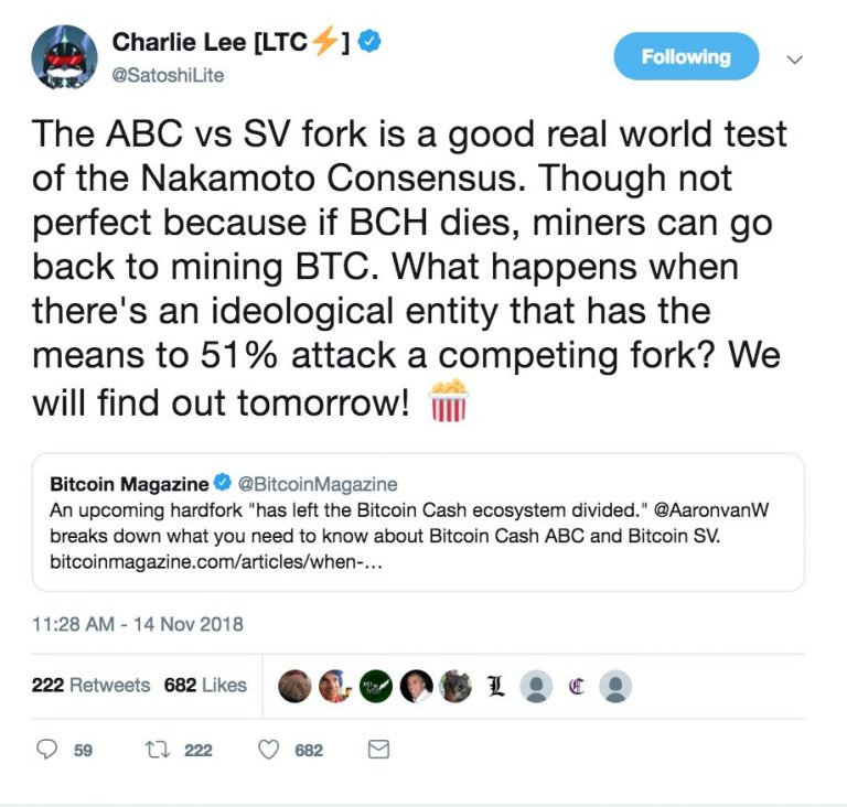 "Is Bitcoin Cash on the way to another ""catastrophic"" fork?"