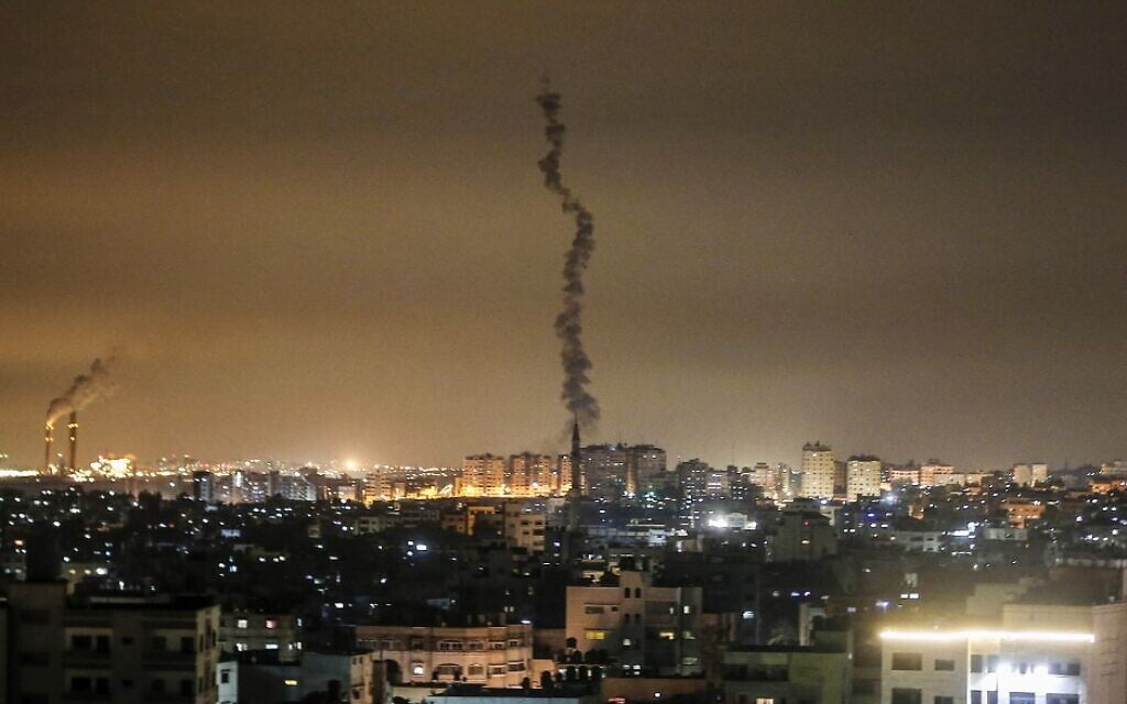 Israel is bombing Gaza again in response to multiple attacks