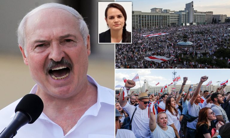 Lithuania and Latvia are calling for repeated presidential elections in Belarus