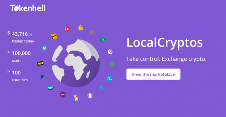 LocalCryptos can be integrated into ChageNOW