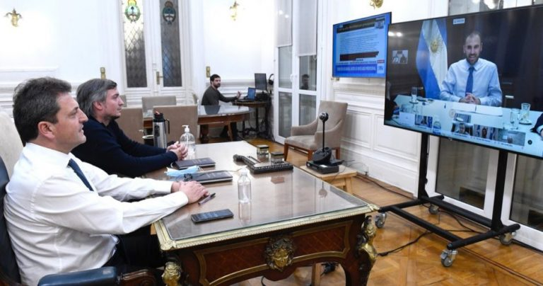 The Argentine Chamber of Deputies approves the debt restructuring project under national law