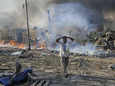 The death toll rises to 19 in the Somali capital in prison riot