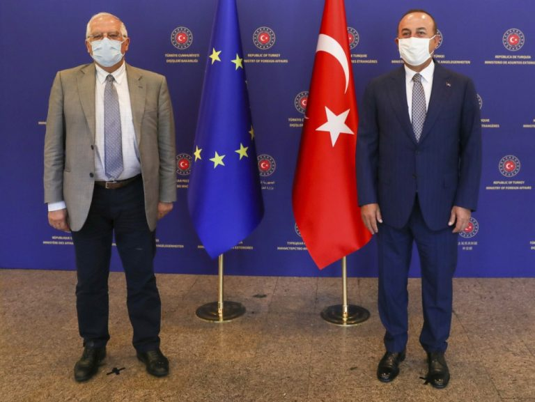 The EU calls on Ankara to suspend drilling in the Eastern Mediterranean and return to dialogue