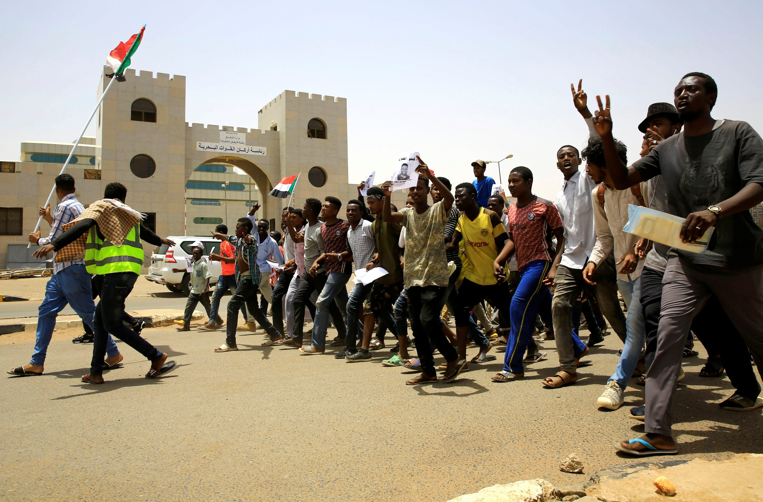 """The main opposition movement in Mali, ready to work with the military junta for a """"transition""""."""