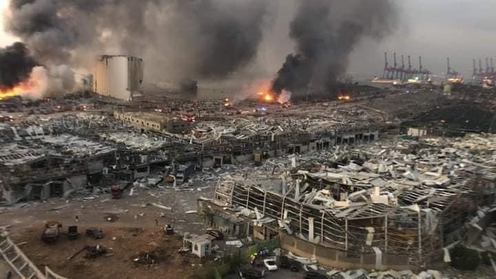 The port of Beirut resumes operations after the August 4th explosions