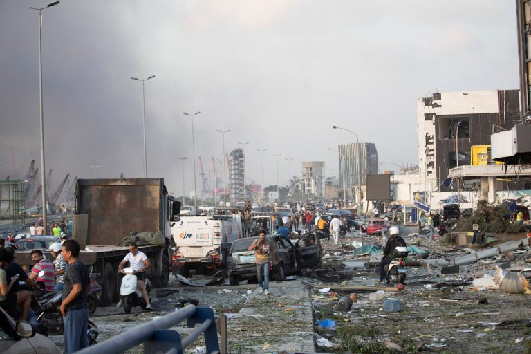 The UN confirms that over a hundred people were injured in the explosions in Beirut