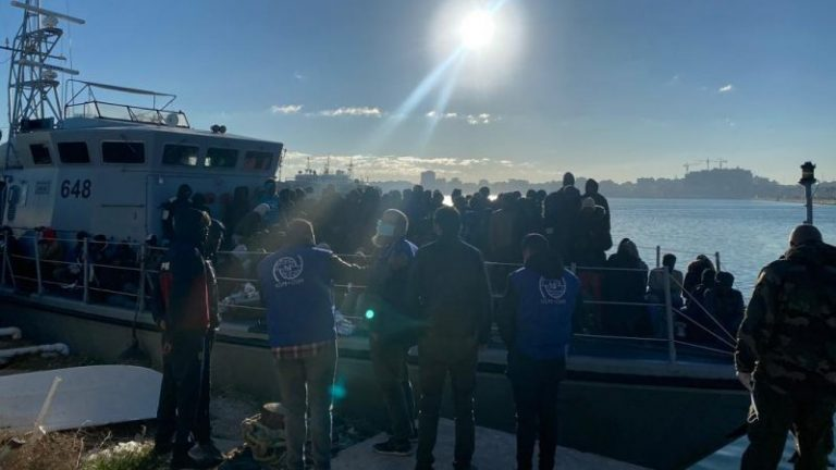 The United Nations is calling for the immediate disembarkation of the more than 400 migrants currently stranded in the Mediterranean
